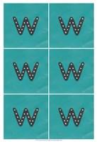 "Lucien's W 6-Up by Chariklia Zarris - 13"" x 19"", FulcrumGallery.com brand"