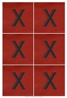 "Lucien's X 6-Up by Chariklia Zarris - 13"" x 19"", FulcrumGallery.com brand"