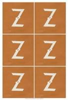 "Lucien's Z 6-Up by Chariklia Zarris - 13"" x 19"", FulcrumGallery.com brand"
