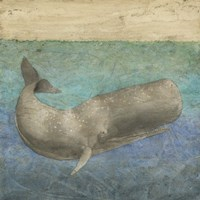 Diving Whale II Fine Art Print