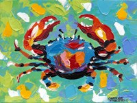 Seaside Crab I Fine Art Print