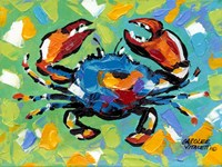 Seaside Crab II Fine Art Print