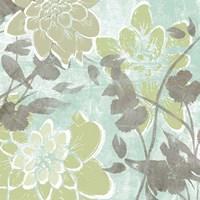 Dahlias & Petals I by Jennifer Goldberger - various sizes - $16.99