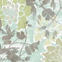 Dahlias & Petals II by Jennifer Goldberger - various sizes - $16.99