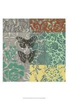 """World Bazaar Butterflies II by Jennifer Goldberger - 13"""" x 19"""""""