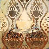 Coffee House III Framed Print