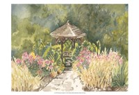 Watercolor Garden IV Fine Art Print
