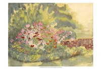 Watercolor Garden V Fine Art Print