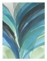 Big Blue Leaf II Fine Art Print