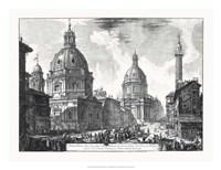 Veduta della du Chiese della Madonna Fine Art Print