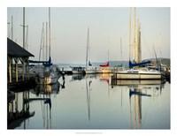 Marina Sundown I Framed Print