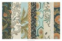 Textile Strata II Framed Print