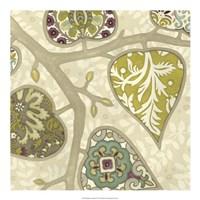 Patterns in Foliage II Framed Print