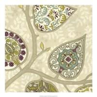 Patterns in Foliage III Framed Print