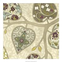 Patterns in Foliage IV Framed Print