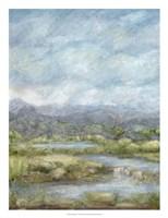 Green Pastures I Framed Print