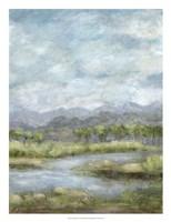 Green Pastures II Framed Print