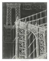 Iconic Blueprint I Fine Art Print