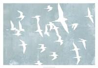 """Silhouettes in Flight II by Jennifer Goldberger - 32"""" x 22"""""""