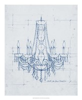 "Chandelier Draft IV by Ethan Harper - 18"" x 22"""