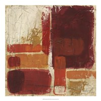 "Overlap II by June Erica Vess - 20"" x 20"", FulcrumGallery.com brand"