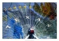 Texas Ferris Wheel Framed Print