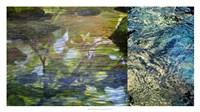 River Mod Panel II Fine Art Print