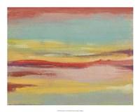 """Sunset Study V by Jennifer Goldberger - 20"""" x 16"""""""