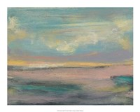 "Sunset Study VI by Jennifer Goldberger - 20"" x 16"""