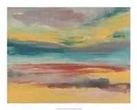"""Sunset Study IX by Jennifer Goldberger - 20"""" x 16"""""""