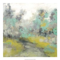 "Pastel Walk II by Jennifer Goldberger - 20"" x 20"""