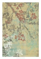 Blossom Panel I Framed Print
