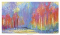 Woods Splash Fine Art Print