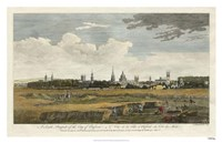 South Prospect of Oxford Fine Art Print