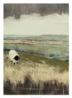 Open Meadow I Framed Print