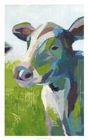 "Painterly Cow III by Grace Popp - 20"" x 32"""