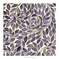 """Amethyst Swirls II by Grace Popp - 18"""" x 18"""""""