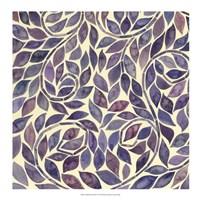 """Amethyst Swirls III by Grace Popp - 18"""" x 18"""""""