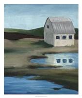"""Farmstead II by Grace Popp - 22"""" x 26"""" - $40.49"""