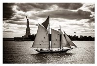 The Clipper & the Liberty Fine Art Print