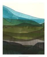 """Blue Hills II by Jodi Fuchs - 18"""" x 22"""""""
