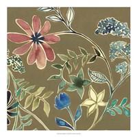 "Flower Garland I by Grace Popp - 20"" x 20"", FulcrumGallery.com brand"