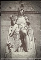 Statue Castel Sant Angelo Fine Art Print