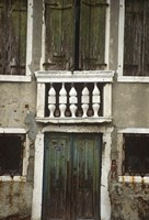 Venice Green Windows by Michael Harrison - various sizes