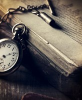 Watch Book Fine Art Print