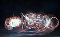Dancing Light Wave Fine Art Print