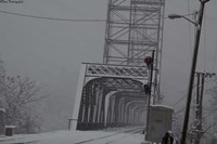 Livingston Avenue Bridge 1 Fine Art Print