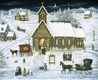The Christmas Party by Ann Stookey - various sizes, FulcrumGallery.com brand