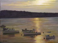 Harbor Sunset by Jerry Cable - various sizes