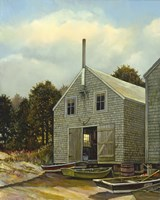 Monhegan Fish House by Jerry Cable - various sizes